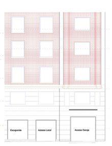 Planos fachada