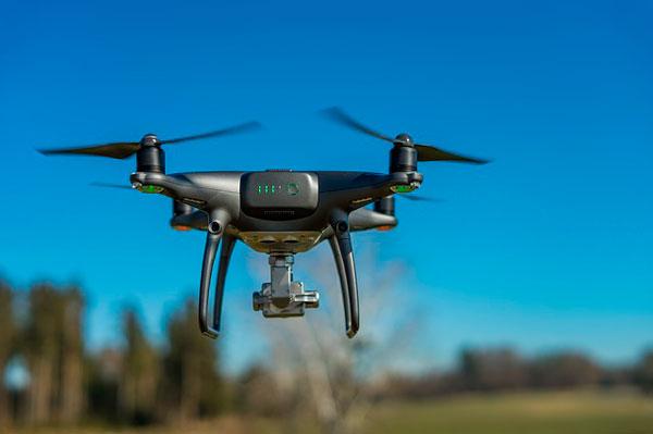 usar drones en topografía