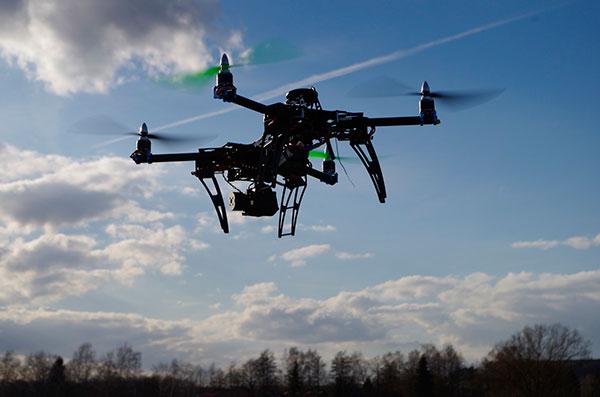 drones para topografía